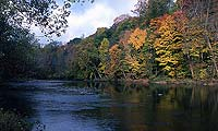 Cuyahoga River in the Fall by Tom Jones